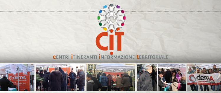 CIT - Centri Itineranti Informazione Territoriale di demA