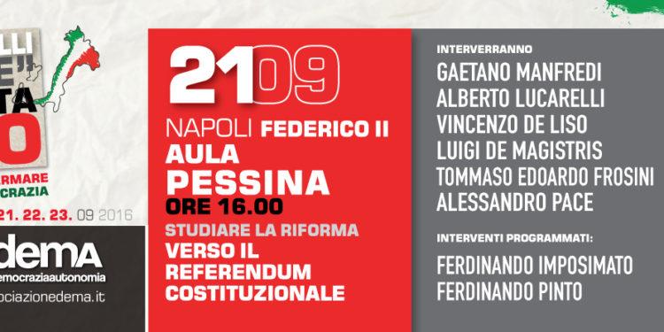La tre giorni a #Napoli: 21 Giugno - #VotaNO