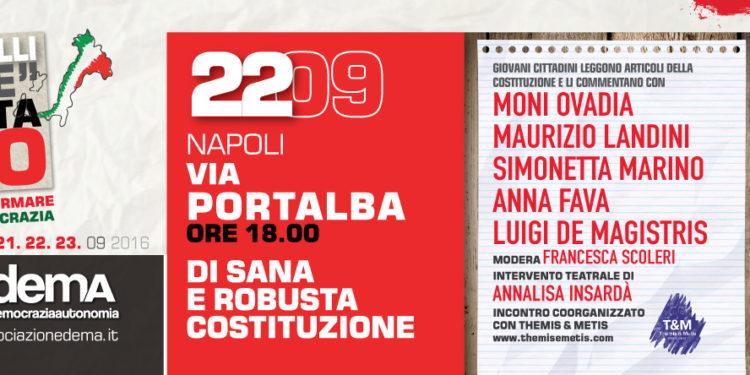 La tre giorni a #Napoli: 22 Giugno - #VotaNO