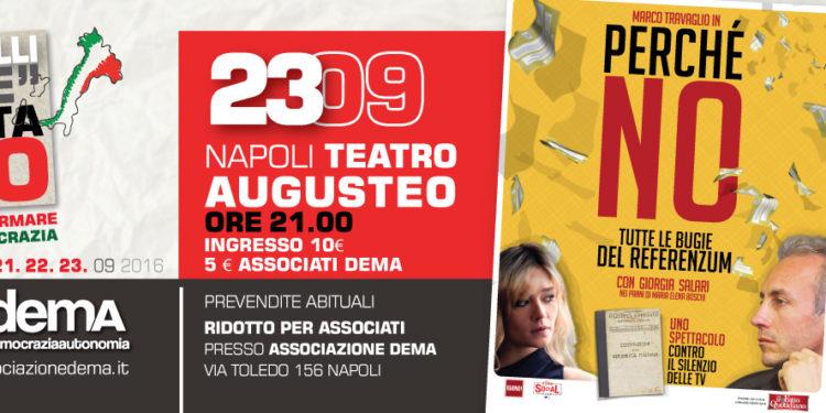 La tre giorni a #Napoli: 23 Giugno - #VotaNO