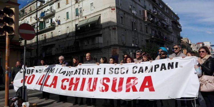 Coop Napoli no alla chiusura