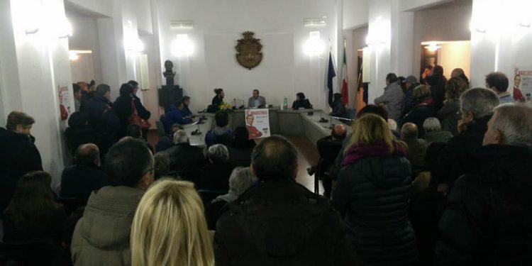 Luigi de Magistria presenta il suo libro a Ceppaloni (BN)