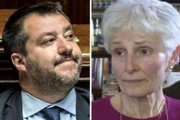 Matteo Salvini Rosa Maria dell'aria